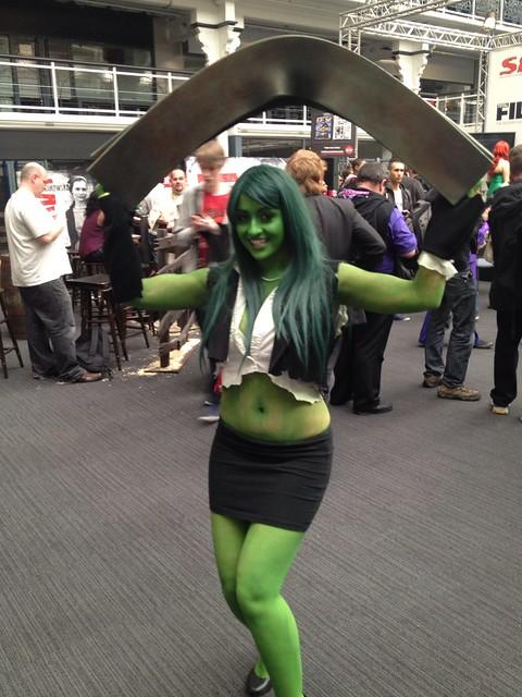 She-Hulk costume at Kapow   Flickr - Photo Sharing!
