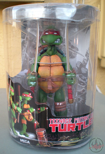 "NECA TEENAGE MUTANT NINJA TURTLES :: ""LEONARDO""  Tube Pack i  (( 2008 ))"