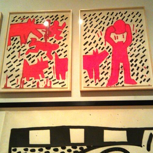 Keith Haring at Brooklyn Museum