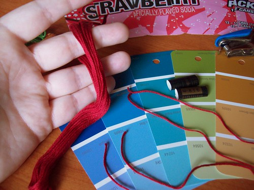 Unwrap embroidery<br /><br /> floss