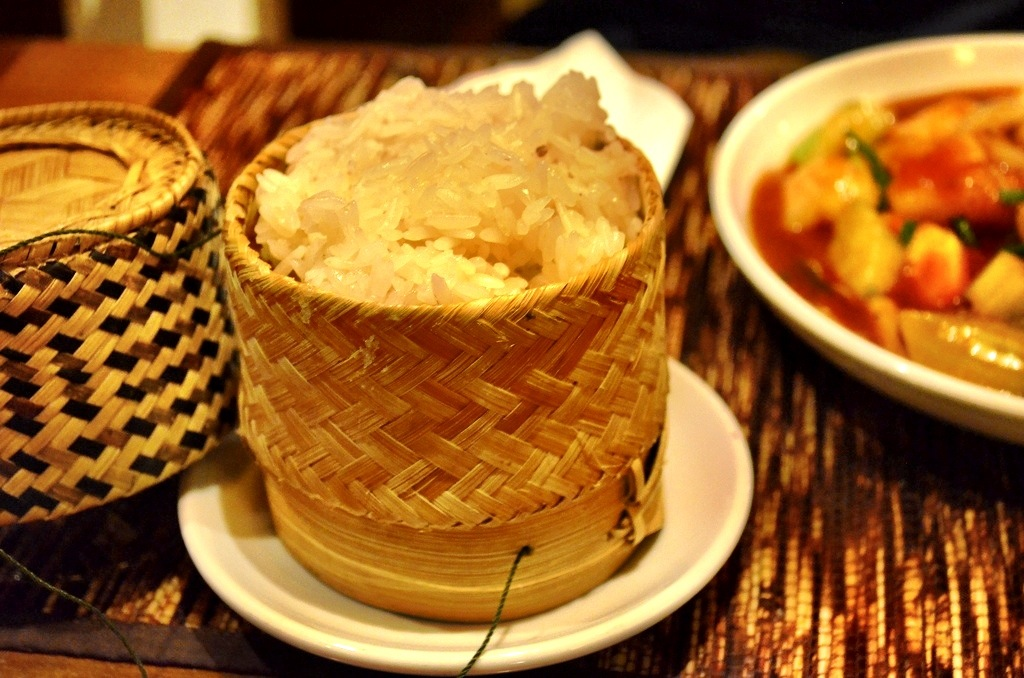 Laos sticky rice