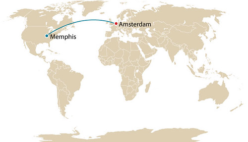 Memphis to Amsterdam
