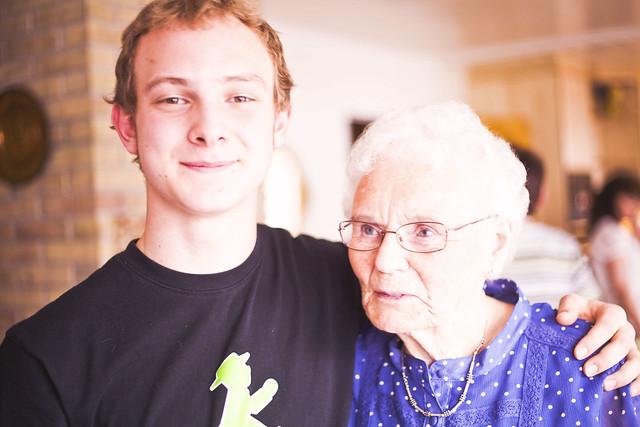 oldemor og jon erik