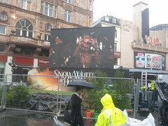 Snow White and the Huntsman London Premiere preparation