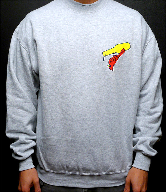 SHELFLIFE SWEATER GREY