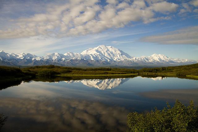 Parque Nacional Denali. Monte McKinley. Alaska