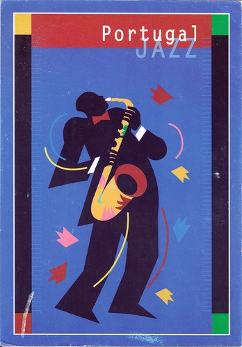 Portugal Jazz Postal Issued Card