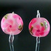 Earring Pair : Pink Rose