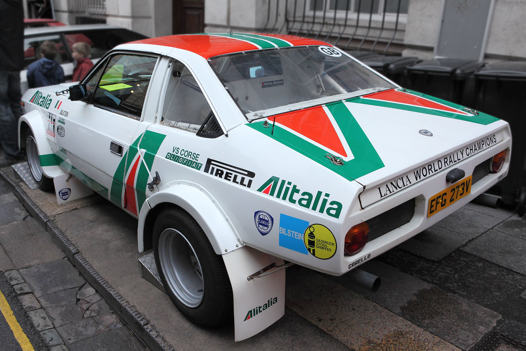 lancia beta s2 rallye 'alitalia', rear three quarter view,… | flickr