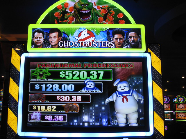 Ghostbusters Slot Machine