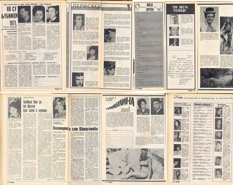 fotografije iz lista ČIK 1971