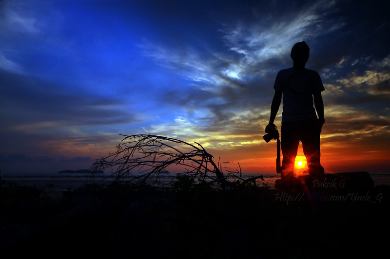Yes.. its beautifull sunset in Yan, Kedah