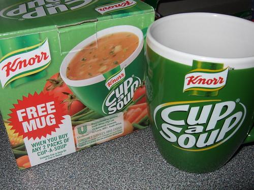 138/366: FREE Soup Mug