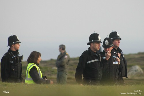 Lands End, Olympic Torch Relay - Day One by Stocker Images