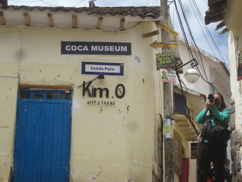 Coca Museum Cusco Peru