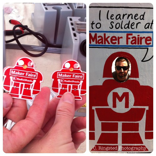 Maker Faire 2012: Today At The Maker Faire We... by Sanctuary-Studio