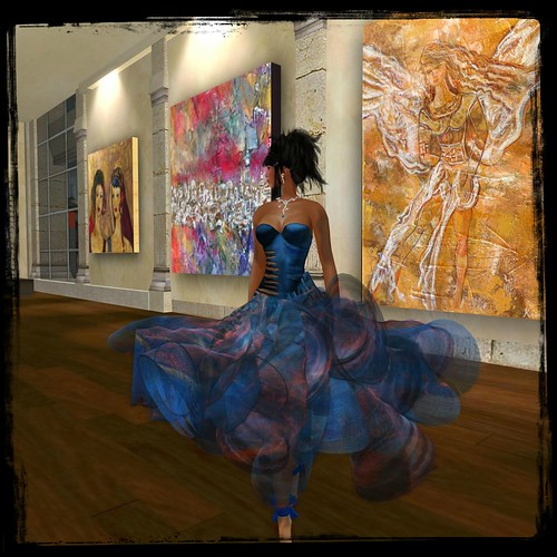 Paris Metro Couture Artist Series - Kayly Lali Gown (C/M) by Cherokeeh Asteria