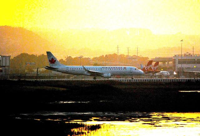 Air Canada Embraer 190 at SFO