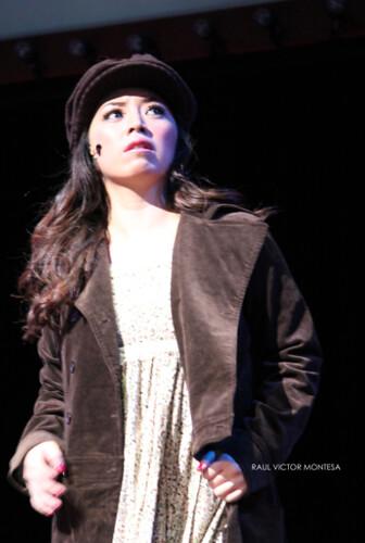 Caisa Borromeo as Eponine (Forbidden Broadway - Manila)