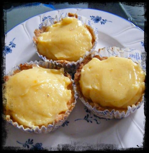 lemon tart trio