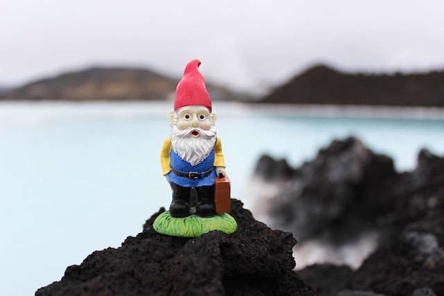 Cedric at the Blue Lagoon