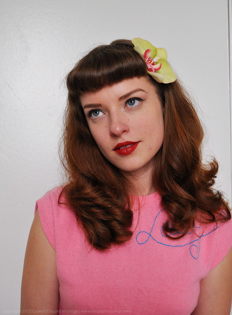 05.23.12 | in with a (retro) bang! | After sporting long ...