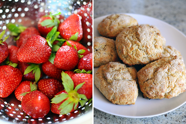 strawberries-and-biscuits