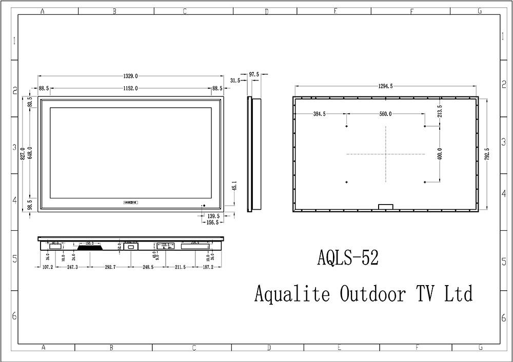 Weatherproof TV Weatherproof LCD LED TV Screens Signs