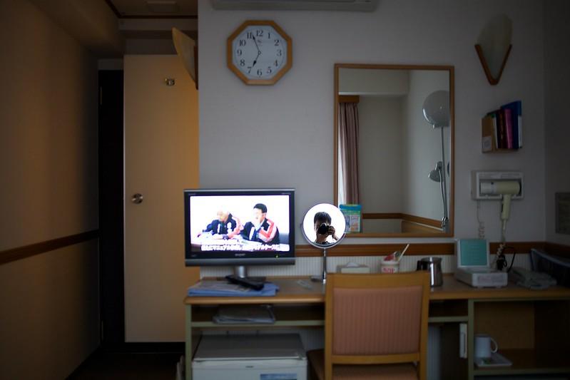 青森2012 東横インの朝