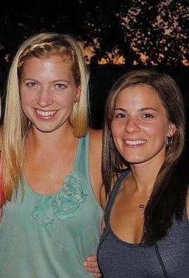 Nicole Raithel & Jordan Chadwell owners of Meringue Clothing
