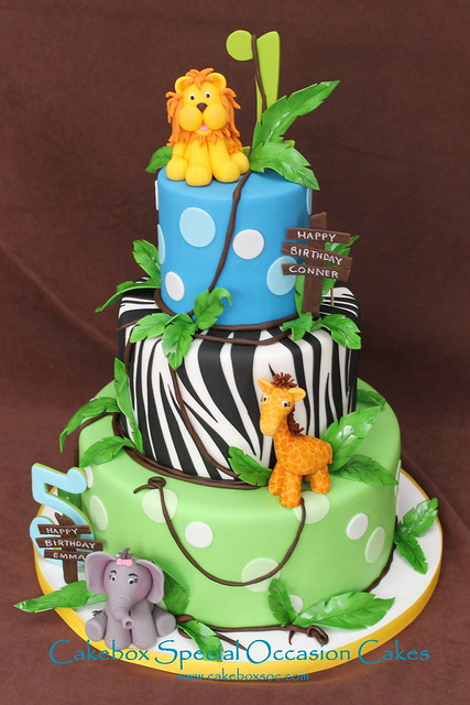 Jungle Birthday Cake Images : 7265547962_94b198cc70_z.jpg