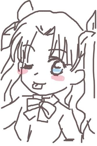120526(2) - 聲優「恒松あゆみ」心血來潮畫出《Fate/Zero》所有角色的塗鴉、只有「久宇舞弥」發揮100%實力(笑) (4/18)