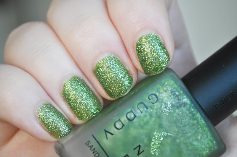 guppy cuddv 16 green glitter notd nail polish ebay