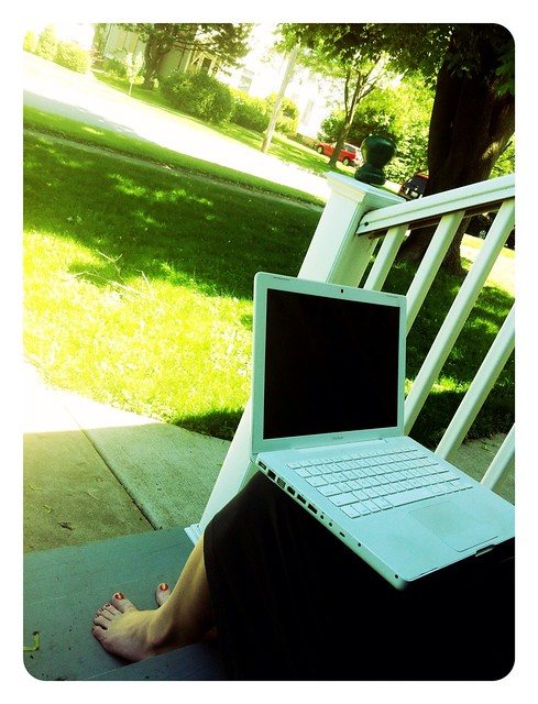 My Office on the Front Porch