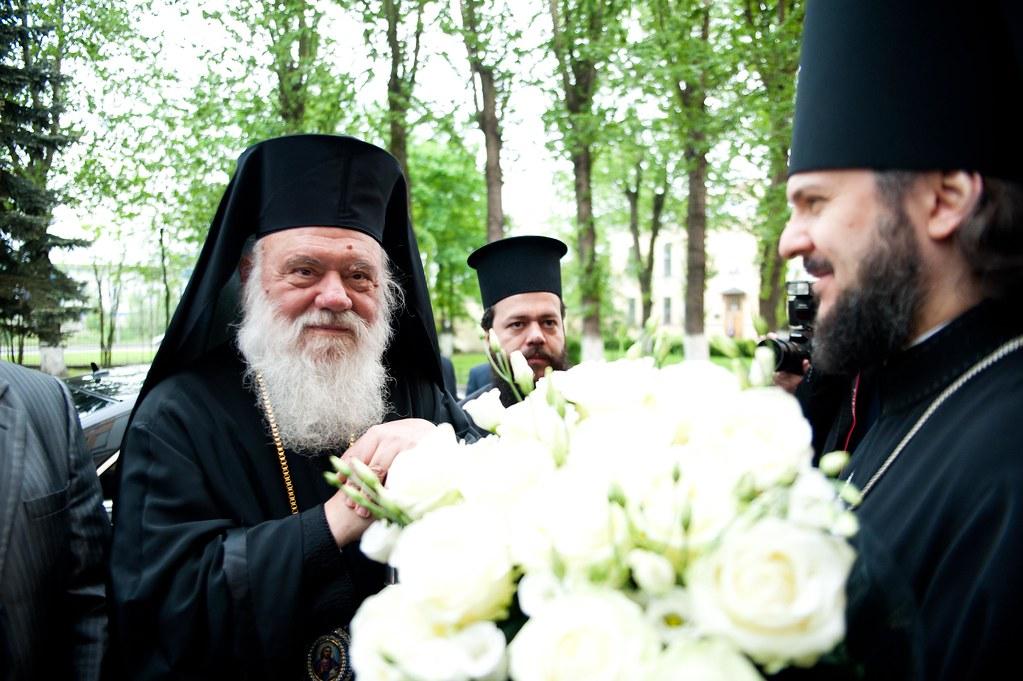 26 мая 2012, Визит делегации Элладской Православной Церкви в СПбПДА