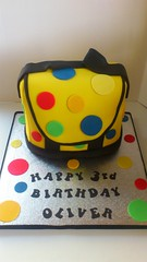 Mr Tumbles Yellow Spotty Bag