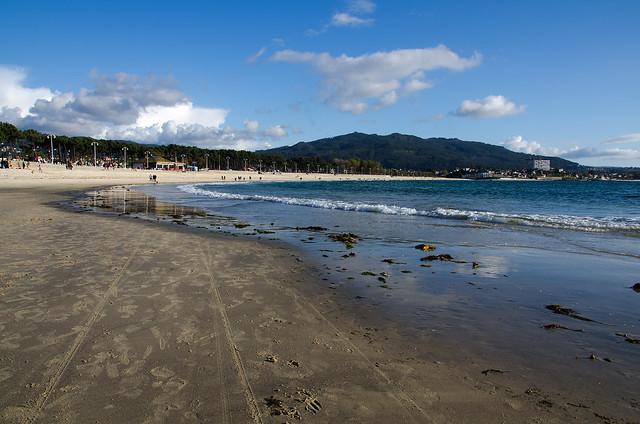 Playa de Samil, Rías Baixas