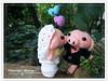 粉紅豬.婚禮娃娃6