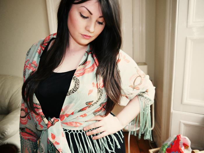glamorous floral kimono 5