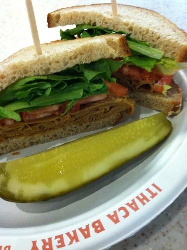 seitan sandwich