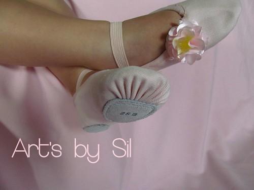 sapatilha balé by Art's by SiL