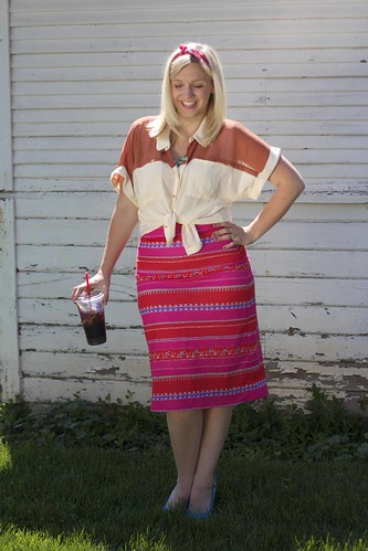 quickie pencil skirt