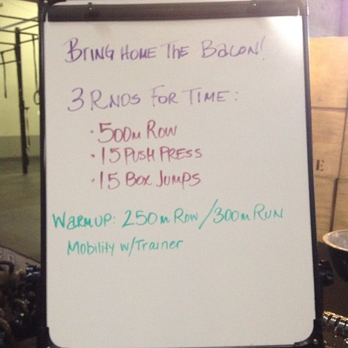 First post-Murph #wod this morning. It hurt.