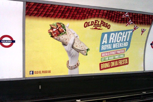 Burrito Diamond Jubilee Tube Ad