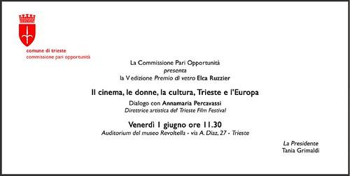 invito per l'evento dell'1 giugno 2012