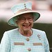 The Queen at Newbury Racecourse