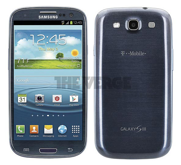 Samsung Galaxy SIII T-Mobile con botón físico
