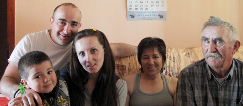 Famille serbe