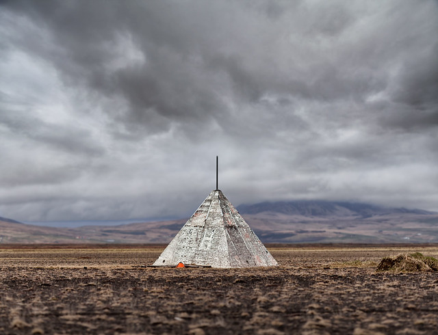 A teepee somewhere in Iceland