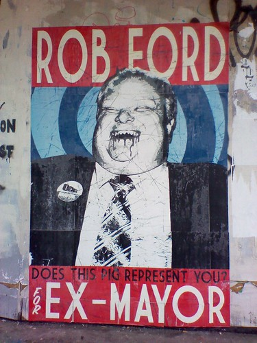 """Rob Ford for Ex-Mayor"""